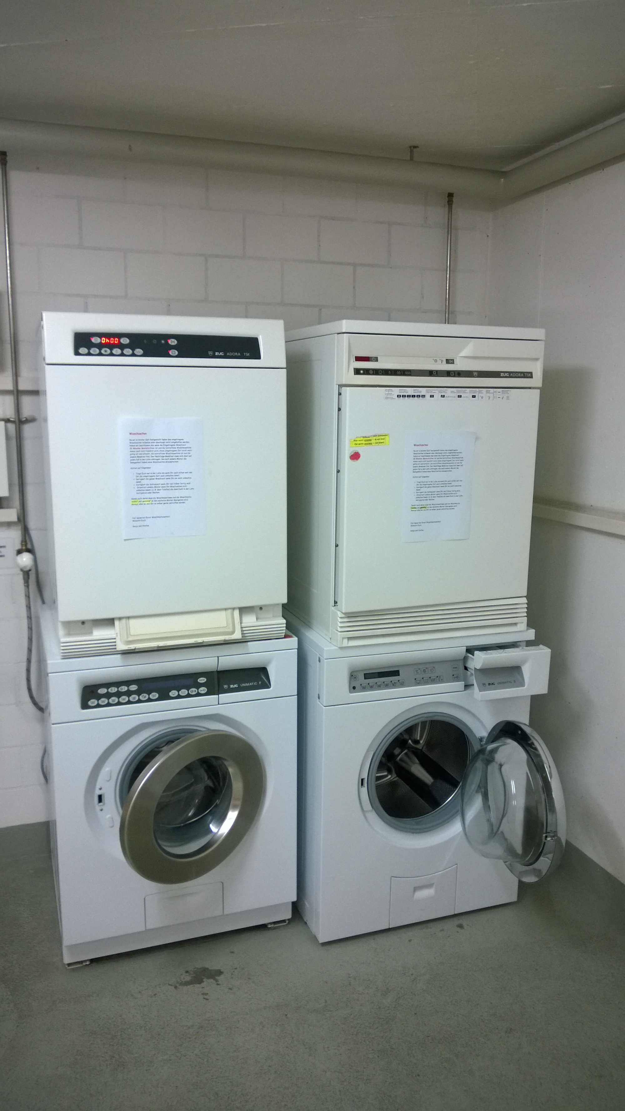 El blog de daniel a perez en europe conquistando el - Secadora encima lavadora ...